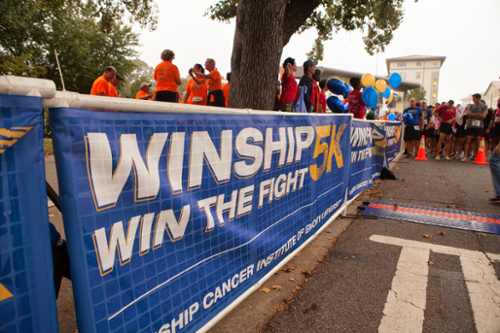 Winship Win the Fight 5K-Saturday